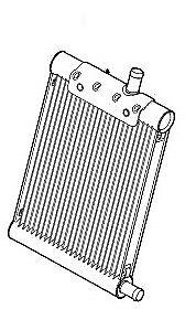 LAND ROVER RANGE ROVER Radiator Cooler Fuel Diesel 3.6 V8