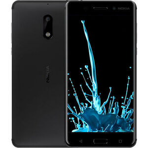 Unlocked Nokia 6 Octa Core Android 7.0 4GB 64GB Dual Sim 5.5'' 16MP Fingerprint
