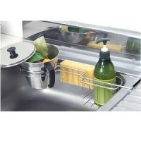 New Stainless Food Waste Tray + Dish Washing Sponge Holder ...