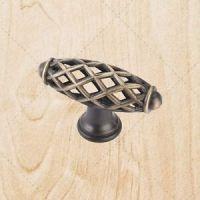 Cabinet Hardware Bird Cage Knobs kL49 Brushed Antique ...