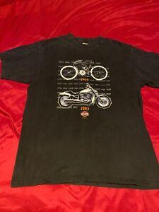 Kona Harley Davidson : harley, davidson, Harley, Davidson, Vintage, 2002-2003, Shirt, Kailua-kona,, Hawaii