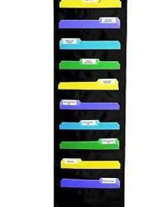 Stock photo also wall mount storage pocket file organizer hanging folder chart rh ebay