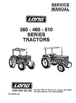 Long 350 360 445 460 510 2460 2460DTC 2460SD 2460SD-DTC