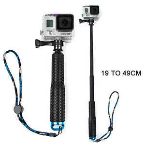 GoPro monopié Manual Extensible Palo De Selfi HERO HD 4