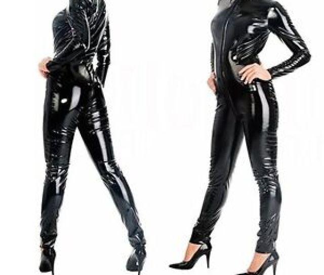 Image Is Loading Sexy Lingerie Plus Size Xxs 7xl Pvc Black