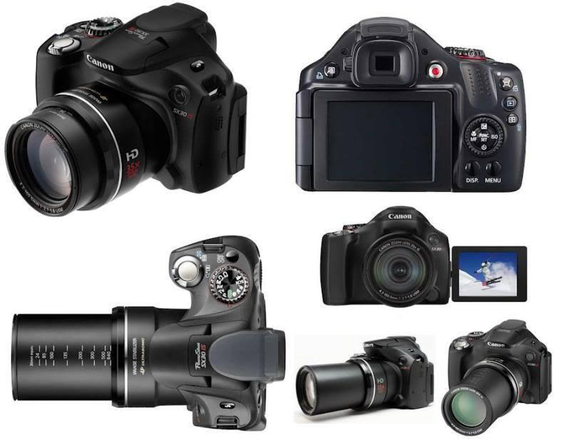 "Canon SX30is Digital Bridge Camera Canon Powershot ""DSLR Style"" SX30 IS – 2721"