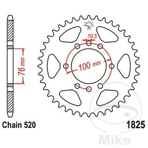JT Rear Sprocket 37T 520P JTR1825.37 Steel Suzuki LT 500 R
