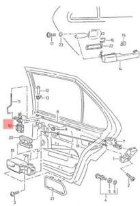 Genuine Relay Lever Left VW SEAT SKODA Bora Clasico Jetta