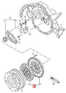 Genuine AUDI A4 allroad quattro Clutch Plates And Pressure