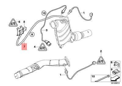 Genuine BMW E60 E61 Catalytic Converter/Front Silencer