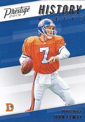 Denver Broncos Helmet History : denver, broncos, helmet, history, ELWAY, PRESTIGE, HISTORY, MAKERS, INSERT, #HM-JE, DENVER, BRONCOS