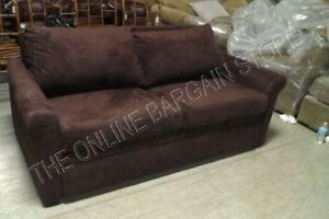 pottery barn sleeper sofa ebay durablend deluxe couch sectional bed mahagony image is loading