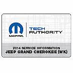 2014 Jeep Grand Cherokee Factory Service Repair Workshop
