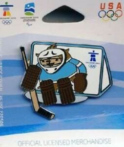 VANCOUVER OLYMPICS 2010 MASCOT QUATCHI HOCKEY PIN   eBay