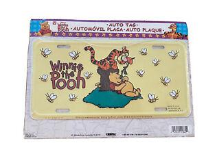 Disney Tigger & Winnie The Pooh Customized License Plate Car Tag ATV Bike | eBay