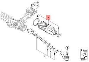 Genuine BMW X5 E70 F15 X6 E71 Steering Rack Boot Repair