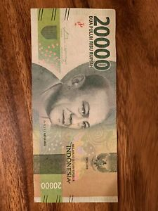 10000 Won To Idr : 10000, Indonesia, 20000, Rupiah, Circulated, Banknote., 20,000, Indonesian, Banknotes.