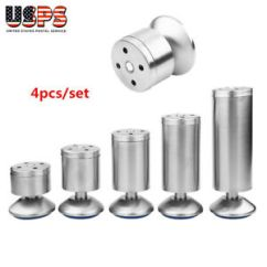 Chair Steel Legs Covers For Reclining Loveseat Set Of 4 Stainless Adjustable Sofa Table Cabinet Image Is Loading