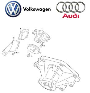 For Audi A6 Quattro S4 S5 VW Touareg Hybrid Water Pump 06E
