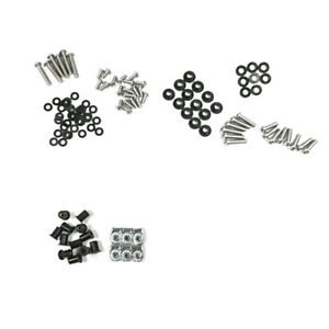 106PCS Fairing Bolt Kit Body Screws Fasteners For 1998-06