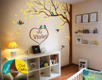 Nursery wall tree decoration Artistic wall tree decals ...