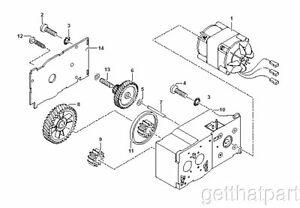 HSM Classic 104.3 108.2 Paper Shredder Oem Gear Box Unit