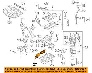 vw eos parts diagram traxxas rustler vxl volkswagen oem 2007 engine shield 06f103623e ebay image is loading