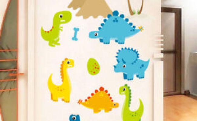 Diy Dinosaurs Wall Sticker Kids Room Decor Removable