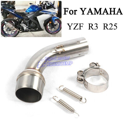 muffler fit for yamaha yzf r3 r25 2015