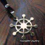 Tibetan Buddhist Wheel Of Life Dharma Stainless Steel Auspicious Necklace For Sale Online Ebay