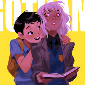 MINGJUE HELEN CHEN Signed ART BOOK Spam #3 GOTHAM ACADEMY Silk NEW Big Hero 6