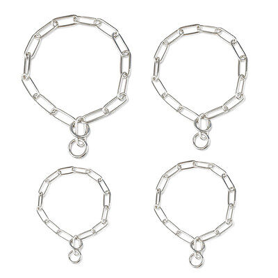 Heavy Duty Metal Stainless Steel Choke Check Chrome Chains