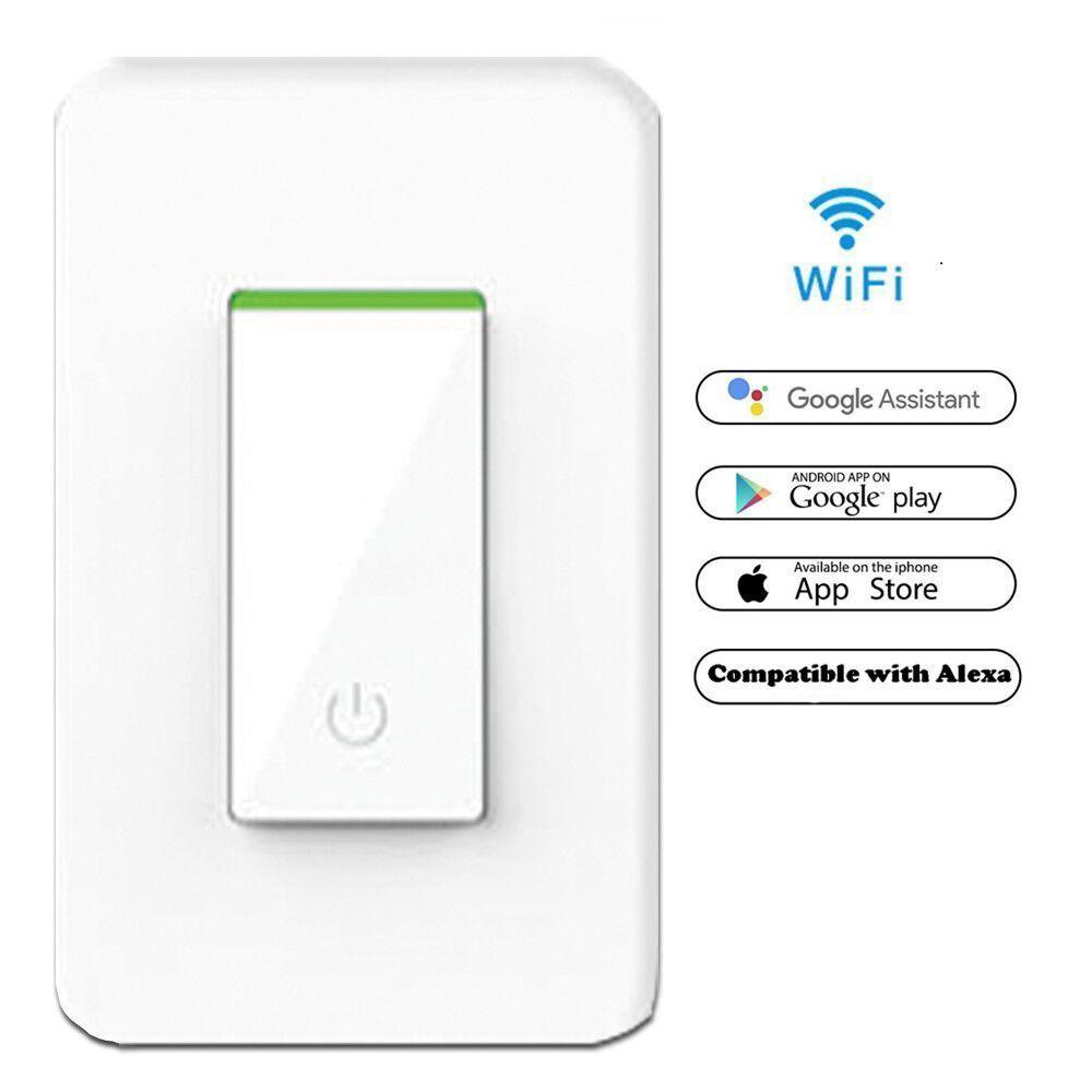 Smart WIFI Light Switch Works with Alexa Google Home IFTTT