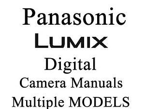Panasonic Lumix Benutzerhandbuch Bedienungsanleitung