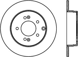 C-TEK Standard Disc Brake Rotor fits 2005-2007 Hyundai