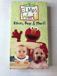 Elmo's World Babies Dogs And More 2000 Vhs : elmo's, world, babies, Sesame, Street, Elmo's, World, Babies,