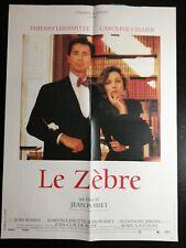 Le Zèbre (film) : zèbre, (film), Indian, Thierry, Lhermitte, Patrick, Timsit, 5/8x31, 1/2in