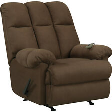 dorel rocking chair breuer chairs replacement seats and backs living padded massage rocker recliner multiple colors ebay item 5 new chocolate deluxe comfort room