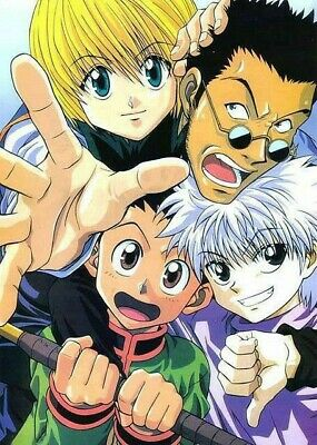 Where would we be without these 4? Hunter x Hunter 11x8.5 Photo Poster Anime Print Gon Killua ...