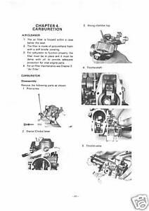 USA discounts store YAMAHA Workshop Manual XT500 E 1978