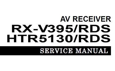YAMAHA HTR-5130 HTR-5130RDS RX-V395 RX-V395RDS Ricevitore