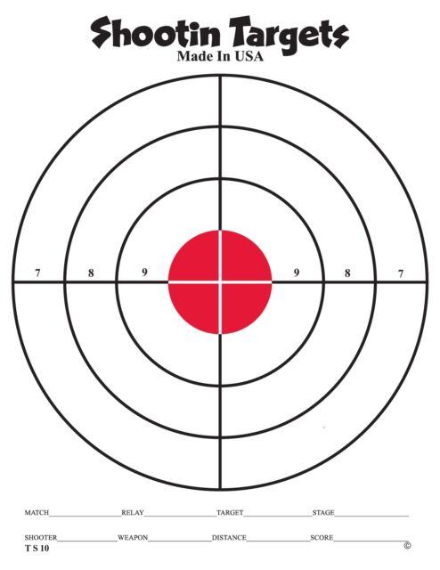 150 red bullseye hand