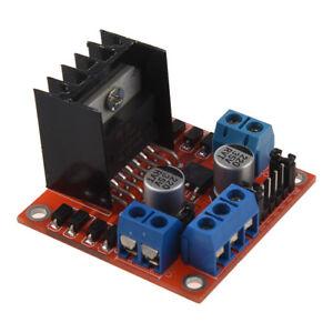 DC 5V L298N Schrittmotor Antriebsregler Platinenmodul fuer Arduino Auto Roboter | eBay