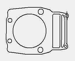 POLARIS 500 4X4 6X6 MAGNUM SPORTSMAN RANGER CYLINDER