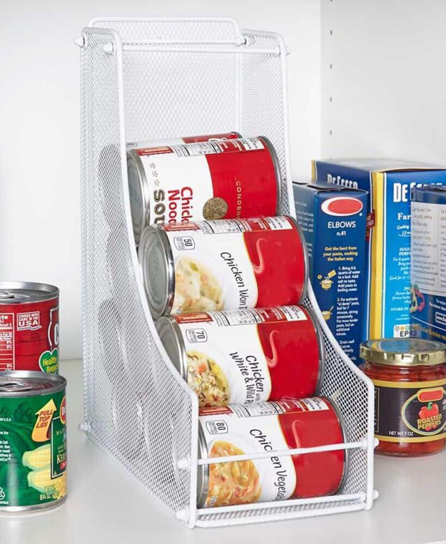 Can Food Organizer Canned Storage For Pantry Space Saving Shelf Organization Bin 2