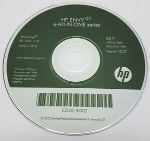Clone Hp Printer Cd Driver Software Disc For Envy 120 E