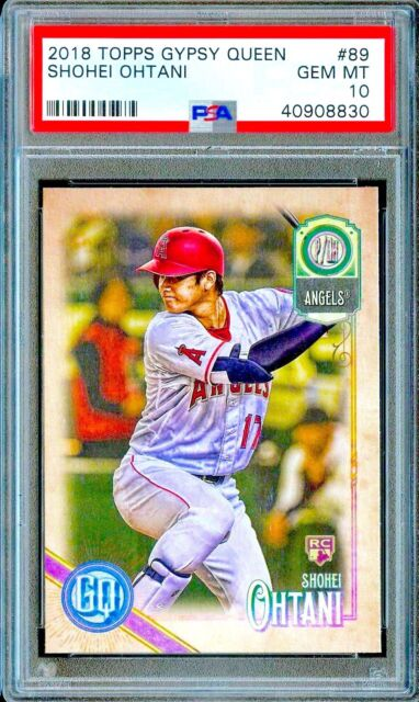 2018 Topps Gypsy Queen #89 SHOHEI OHTANI RC Rookie Card ...