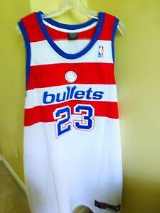 NBA AUTHENTIC 23 MICHAEL JORDAN WASHINGTON BULLETS JERSEY