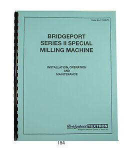Bridgeport Series 2 Special Parts