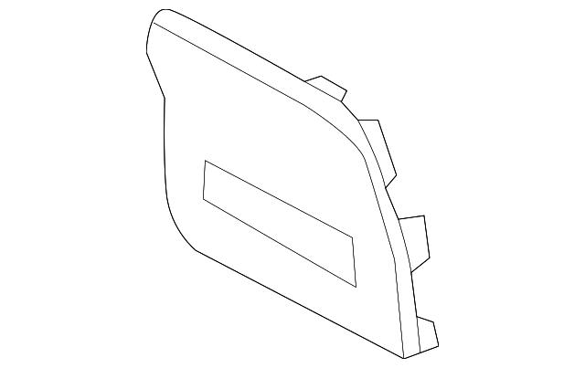 OEM Genuine Instrument Panel Dash Fuse Box Cover 14-16 Kia